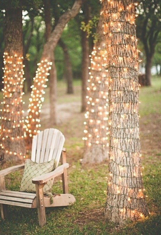 using-trees-for-decoration-11 82+ Awesome Outdoor Wedding Decoration Ideas