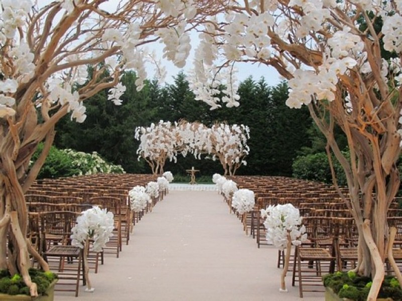 using-trees-for-decoration-20 82+ Awesome Outdoor Wedding Decoration Ideas