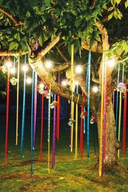 using-trees-for-decoration-5 82+ Awesome Outdoor Wedding Decoration Ideas