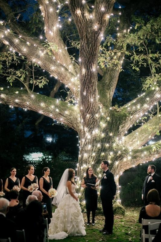 using-trees-for-decoration-7 82+ Awesome Outdoor Wedding Decoration Ideas