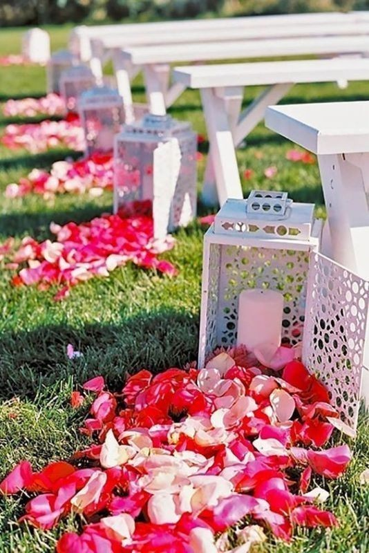 wedding-aisle-decoration-ideas-10 82+ Awesome Outdoor Wedding Decoration Ideas