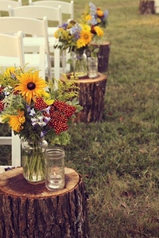 wedding-aisle-decoration-ideas-11 82+ Awesome Outdoor Wedding Decoration Ideas