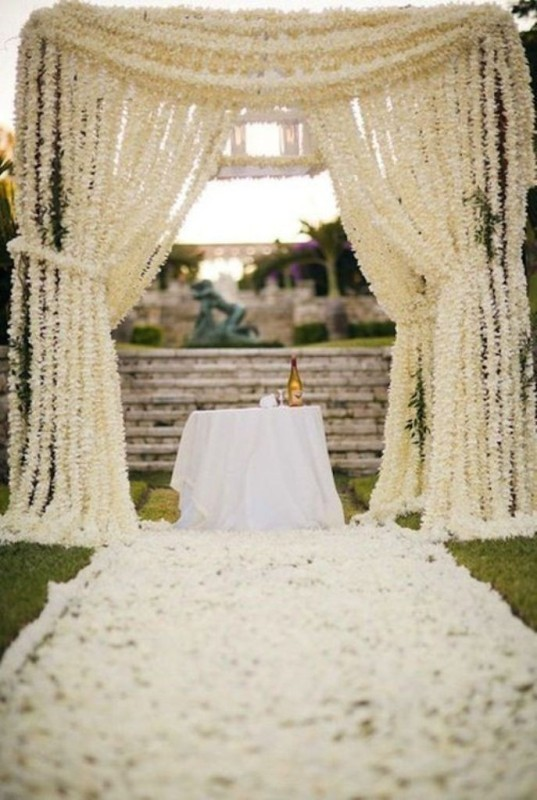 wedding-aisle-decoration-ideas-14 82+ Awesome Outdoor Wedding Decoration Ideas