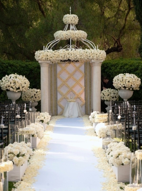 wedding-aisle-decoration-ideas-17 82+ Awesome Outdoor Wedding Decoration Ideas