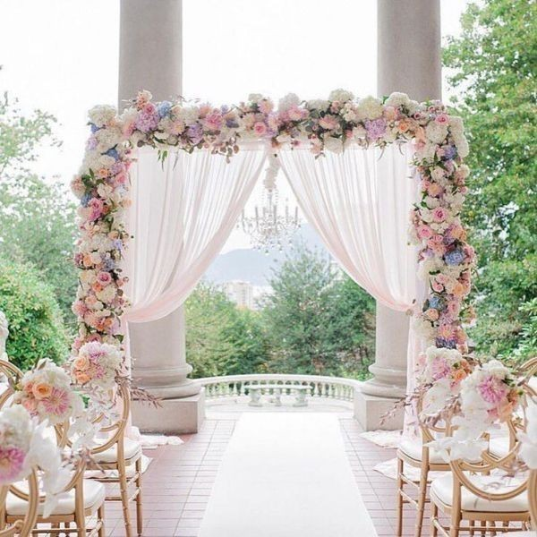 wedding-aisle-decoration-ideas-18 82+ Awesome Outdoor Wedding Decoration Ideas