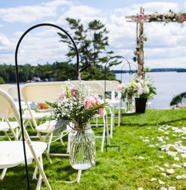 wedding-aisle-decoration-ideas-19 82+ Awesome Outdoor Wedding Decoration Ideas
