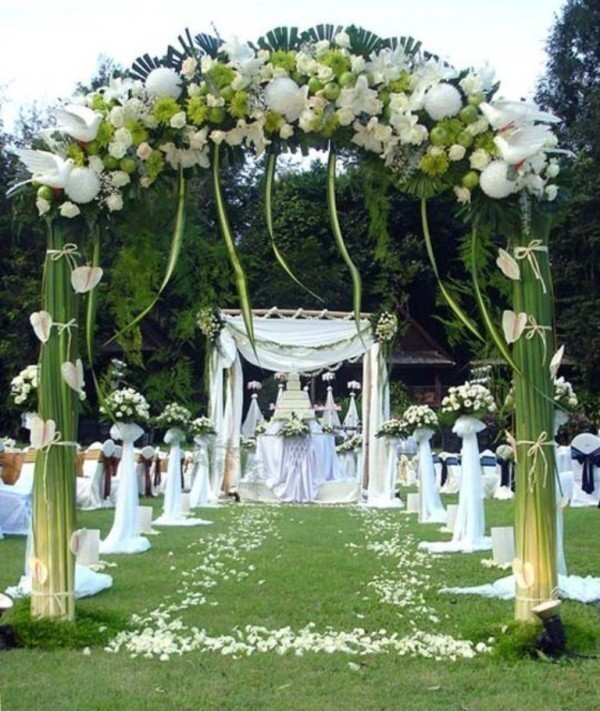 wedding-aisle-decoration-ideas-20 82+ Awesome Outdoor Wedding Decoration Ideas