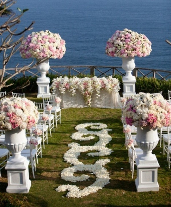 wedding-aisle-decoration-ideas-21 82+ Awesome Outdoor Wedding Decoration Ideas