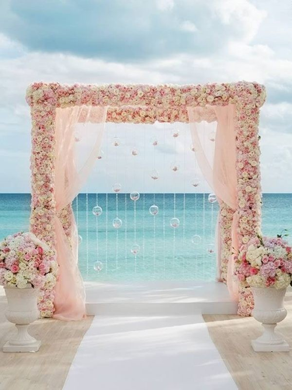 wedding-aisle-decoration-ideas-23 82+ Awesome Outdoor Wedding Decoration Ideas