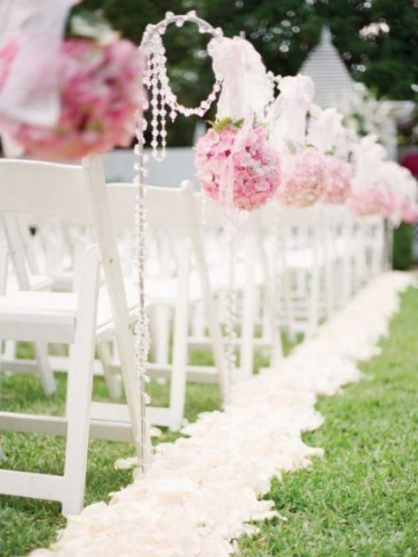 wedding-aisle-decoration-ideas-25 82+ Awesome Outdoor Wedding Decoration Ideas