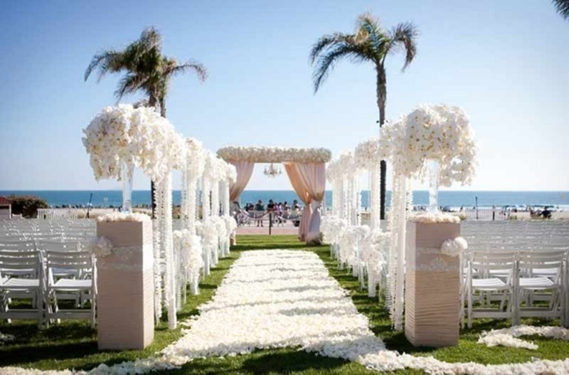wedding-aisle-decoration-ideas-28 82+ Awesome Outdoor Wedding Decoration Ideas