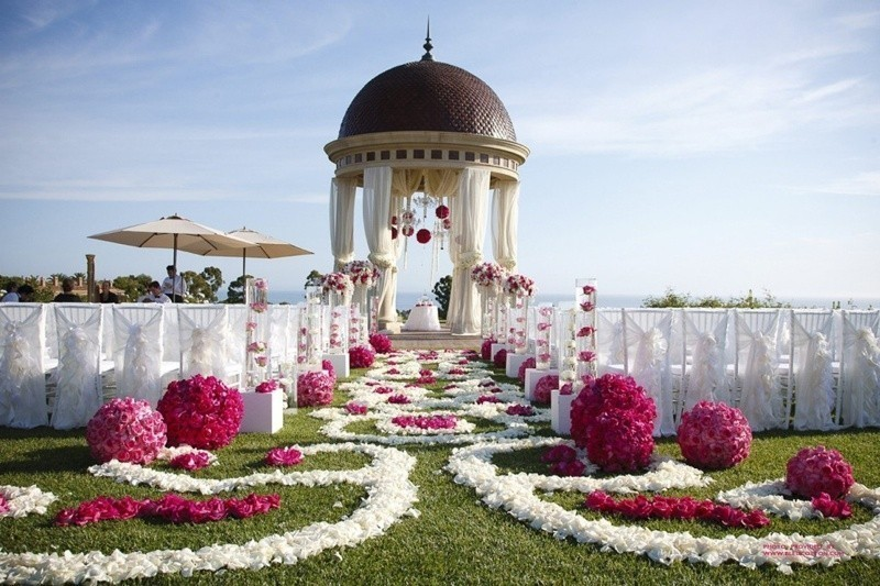 wedding-aisle-decoration-ideas-32 82+ Awesome Outdoor Wedding Decoration Ideas