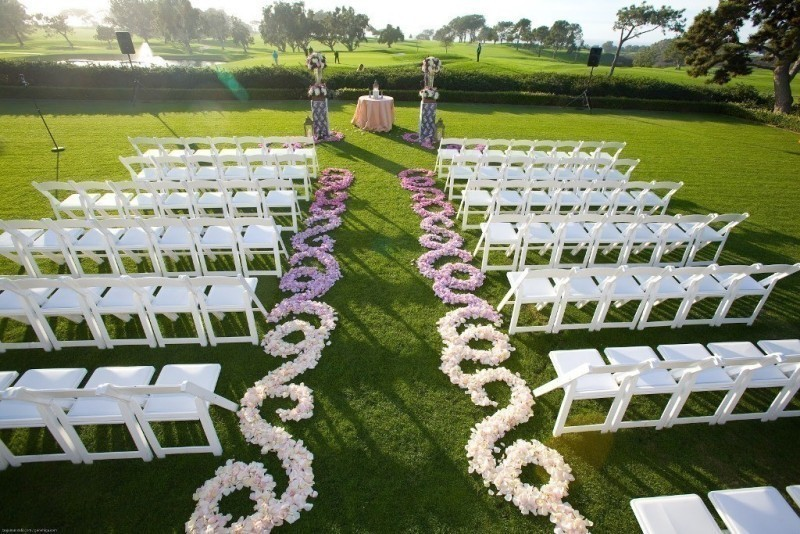 wedding-aisle-decoration-ideas-35 82+ Awesome Outdoor Wedding Decoration Ideas