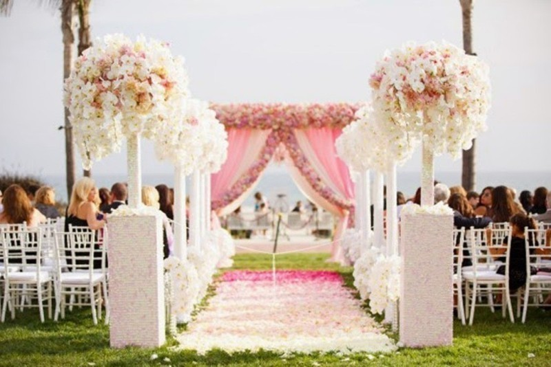 wedding-aisle-decoration-ideas-36 82+ Awesome Outdoor Wedding Decoration Ideas