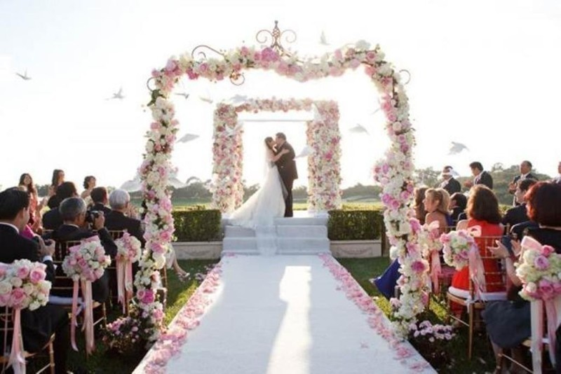 wedding-aisle-decoration-ideas-37 82+ Awesome Outdoor Wedding Decoration Ideas