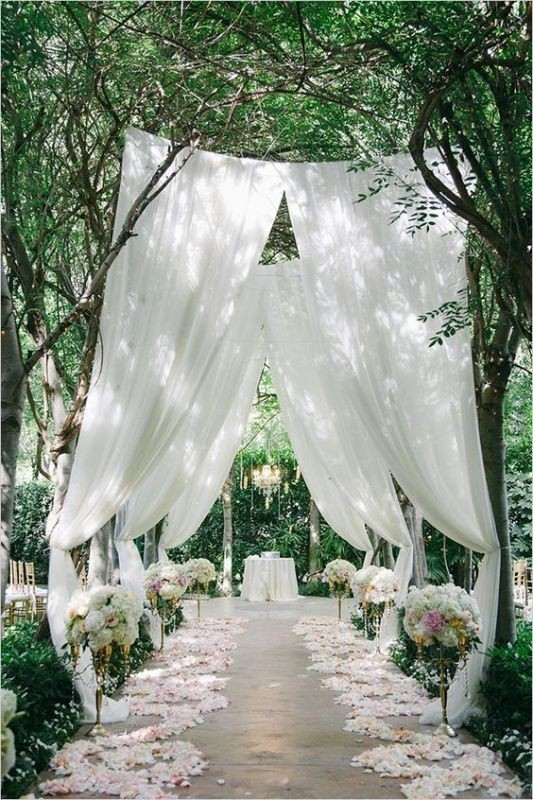 wedding-aisle-decoration-ideas-4 82+ Awesome Outdoor Wedding Decoration Ideas