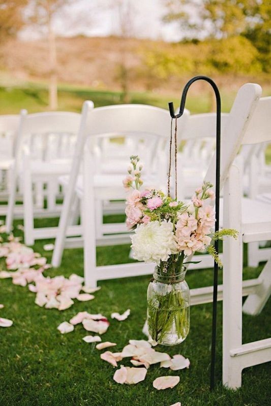 wedding-aisle-decoration-ideas-5 82+ Awesome Outdoor Wedding Decoration Ideas
