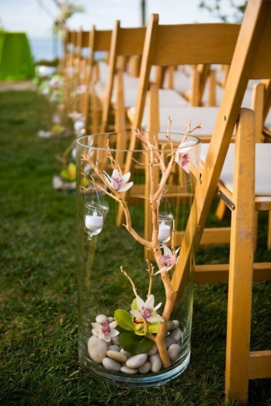 wedding-aisle-decoration-ideas-7 82+ Awesome Outdoor Wedding Decoration Ideas