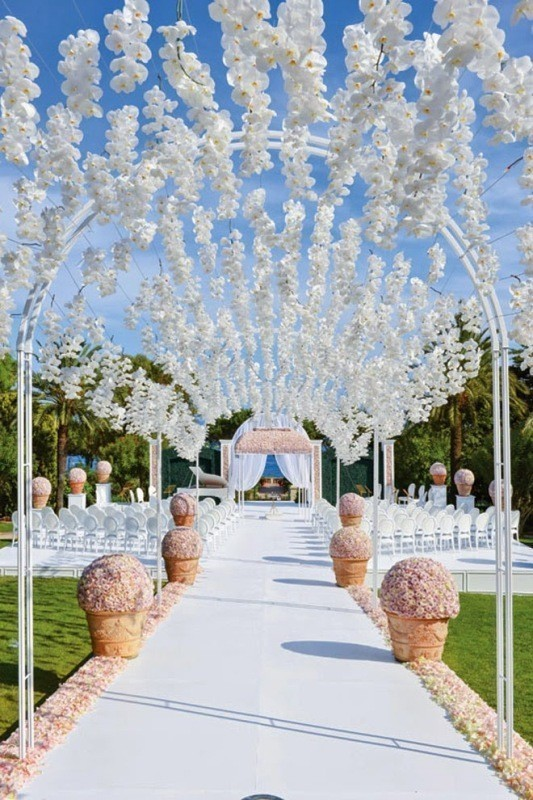 wedding-aisle-decoration-ideas-9 82+ Awesome Outdoor Wedding Decoration Ideas