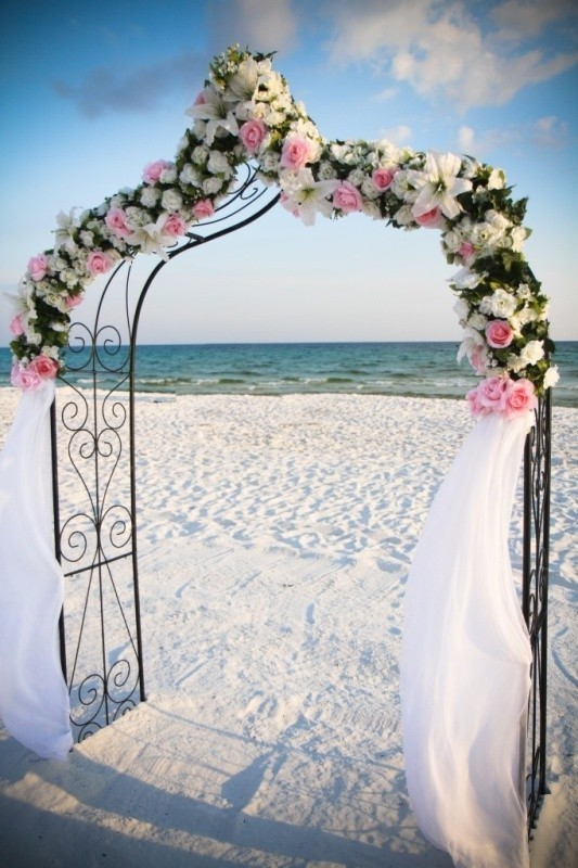 wedding-arch-and-backdrop-decoration-ideas-10 82+ Awesome Outdoor Wedding Decoration Ideas