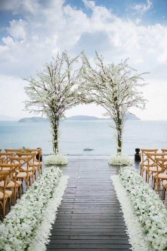 wedding-arch-and-backdrop-decoration-ideas-13 82+ Awesome Outdoor Wedding Decoration Ideas