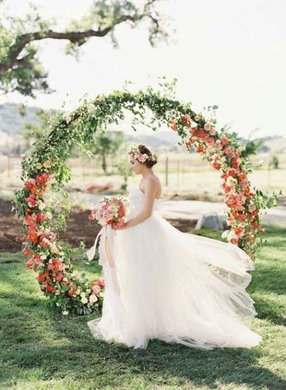 wedding-arch-and-backdrop-decoration-ideas-14 82+ Awesome Outdoor Wedding Decoration Ideas