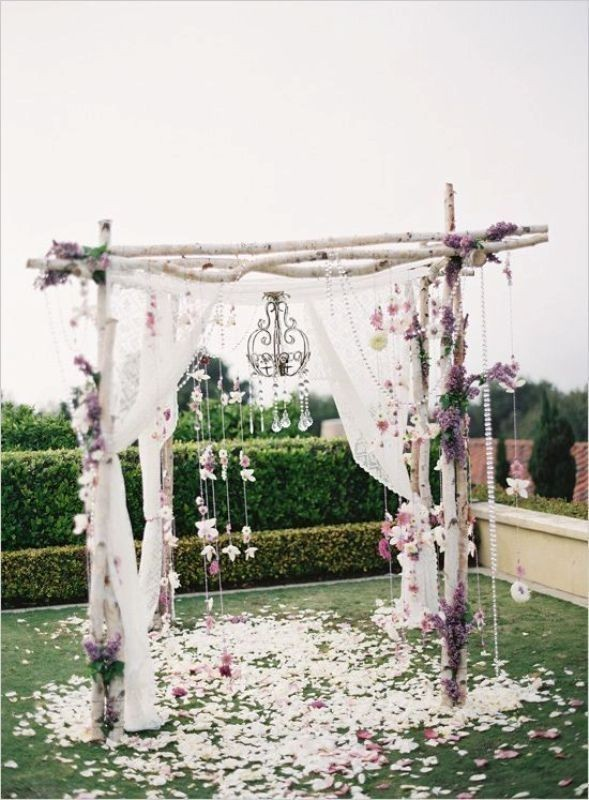 wedding-arch-and-backdrop-decoration-ideas-15 82+ Awesome Outdoor Wedding Decoration Ideas