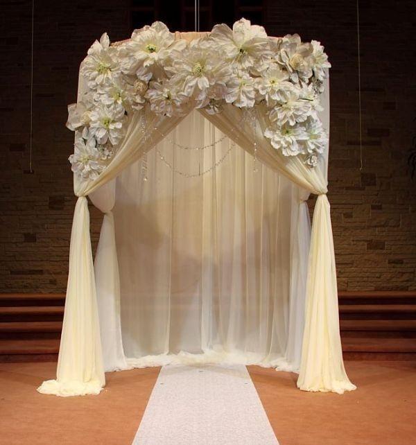 wedding-arch-and-backdrop-decoration-ideas-17 82+ Awesome Outdoor Wedding Decoration Ideas