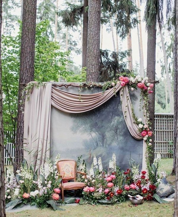 wedding-arch-and-backdrop-decoration-ideas-18 82+ Awesome Outdoor Wedding Decoration Ideas