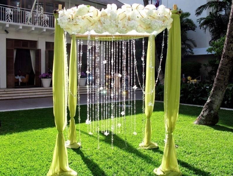 wedding-arch-and-backdrop-decoration-ideas-23 82+ Awesome Outdoor Wedding Decoration Ideas