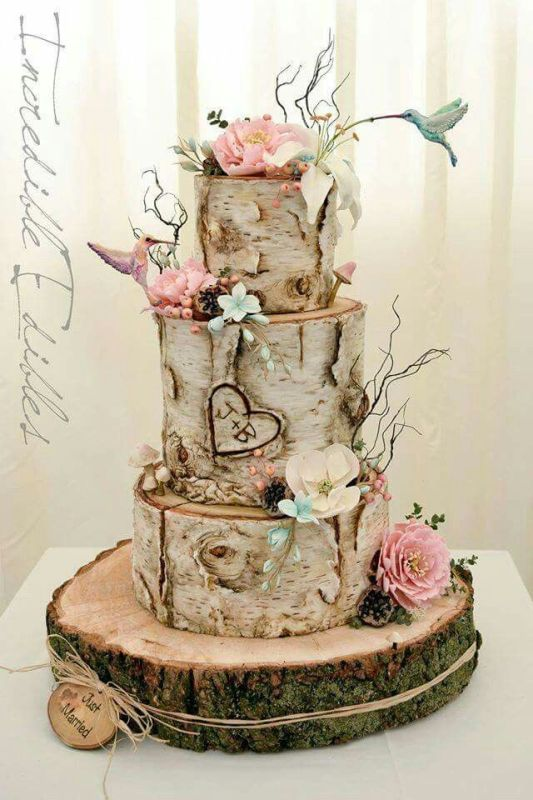 wedding-cakes-1 88+ Unique Ideas for Decorating Your Outdoor Wedding