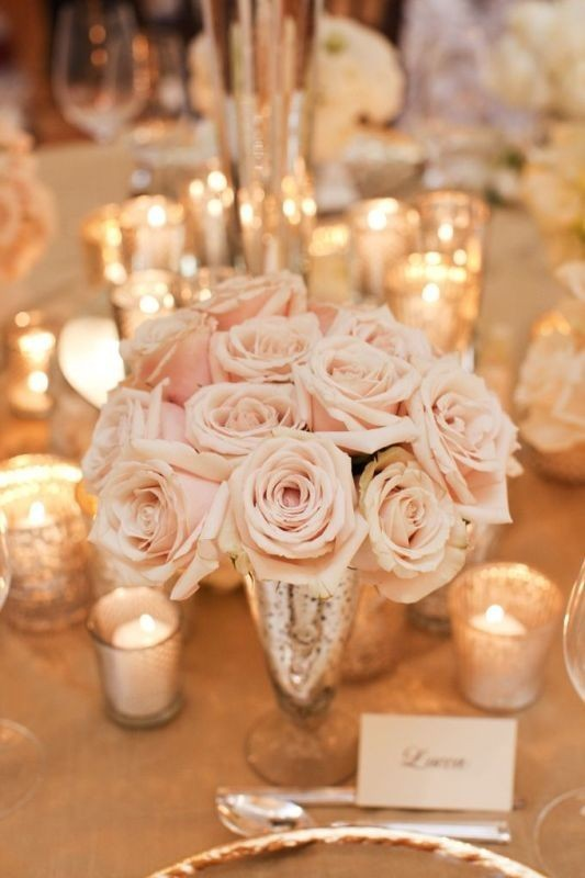 wedding-centerpiece-ideas-8 11 Tips on Mixing Antique and Modern Décor Styles