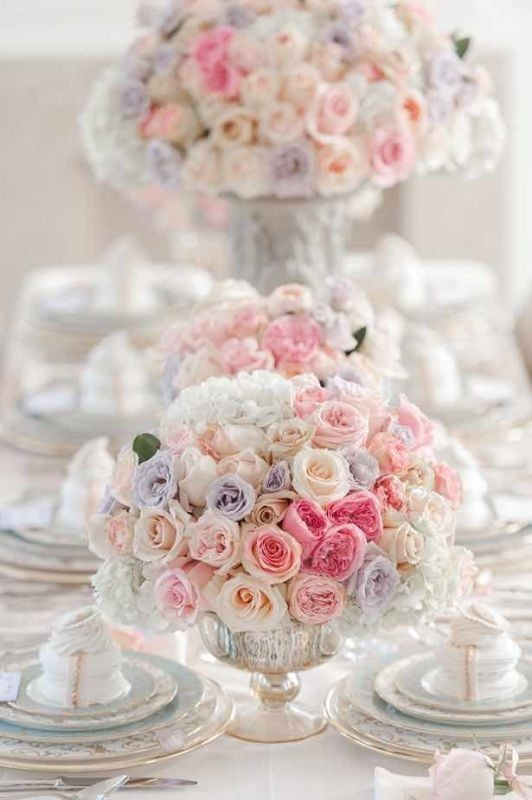 wedding-centerpiece-ideas 11 Tips on Mixing Antique and Modern Décor Styles
