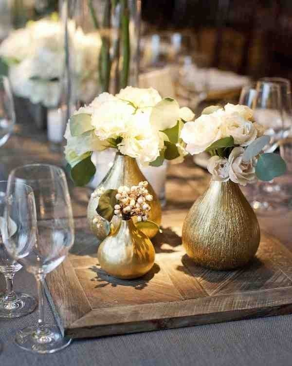 wedding-centerpieces-1 11 Tips on Mixing Antique and Modern Décor Styles