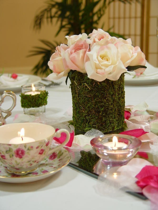 wedding-centerpieces-4 11 Tips on Mixing Antique and Modern Décor Styles