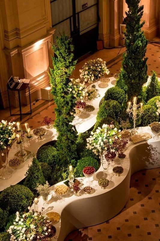 wedding-table-decoration-ideas-5 82+ Awesome Outdoor Wedding Decoration Ideas