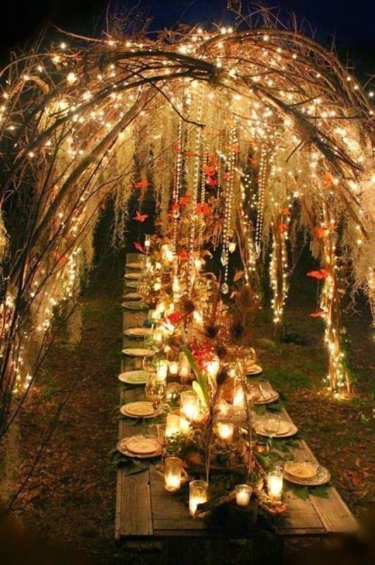 wedding-table-decoration-ideas 82+ Awesome Outdoor Wedding Decoration Ideas