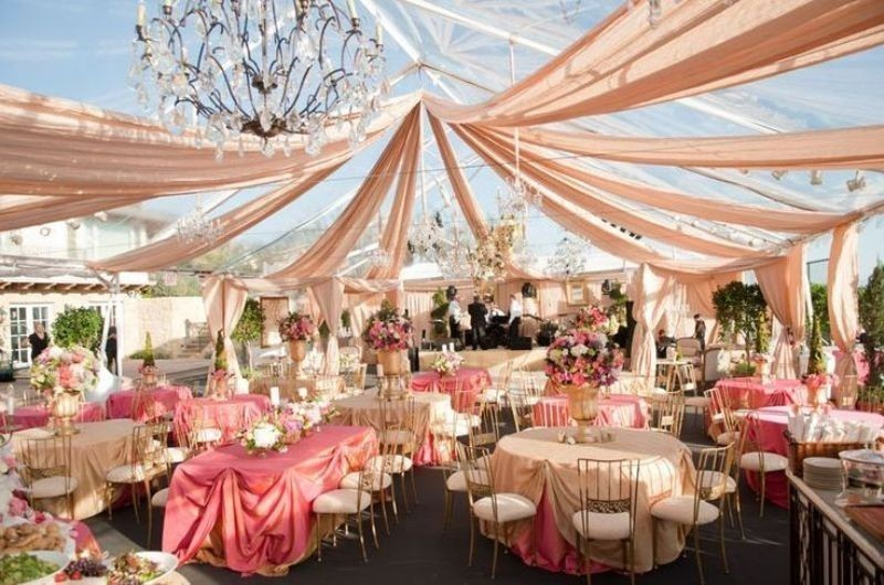 wedding-tent-decoration-ideas-10 88+ Unique Ideas for Decorating Your Outdoor Wedding