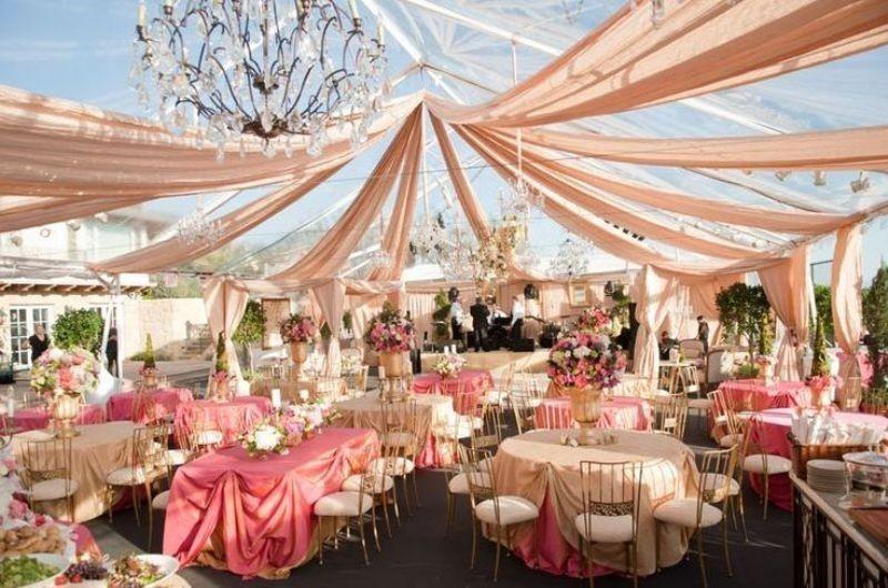 wedding-tent-decoration-ideas-10 88+ Unique Ideas for Decorating Your Outdoor Wedding