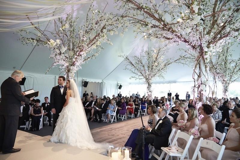 wedding-tent-decoration-ideas-14 88+ Unique Ideas for Decorating Your Outdoor Wedding
