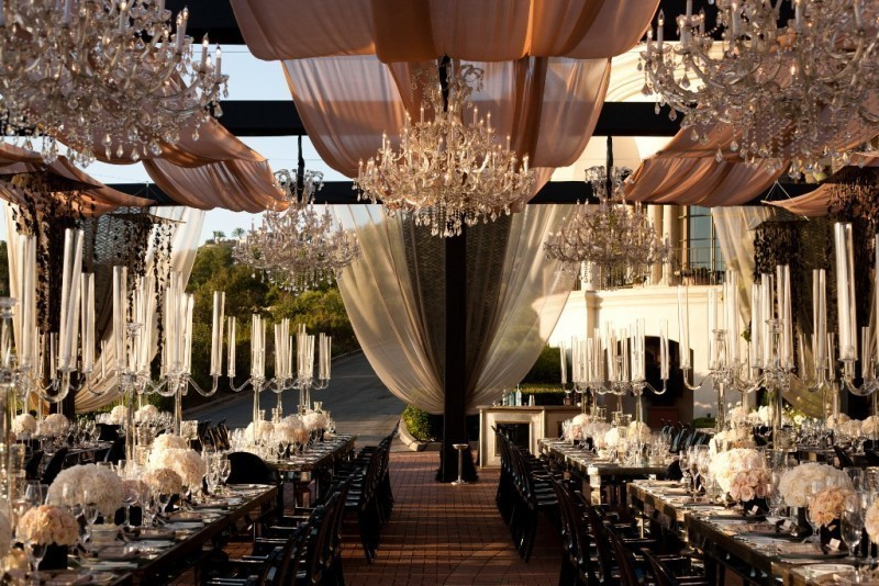 wedding-tent-decoration-ideas-16 88+ Unique Ideas for Decorating Your Outdoor Wedding