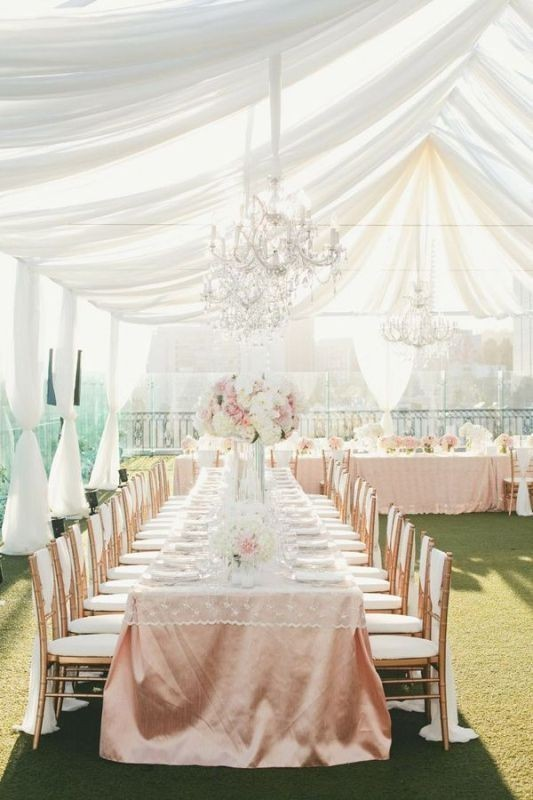 wedding-tent-decoration-ideas-2 88+ Unique Ideas for Decorating Your Outdoor Wedding