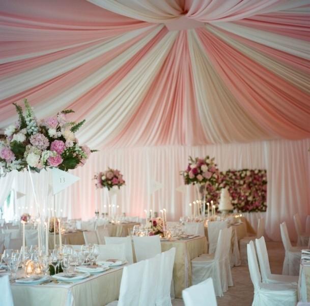 wedding-tent-decoration-ideas-7 88+ Unique Ideas for Decorating Your Outdoor Wedding