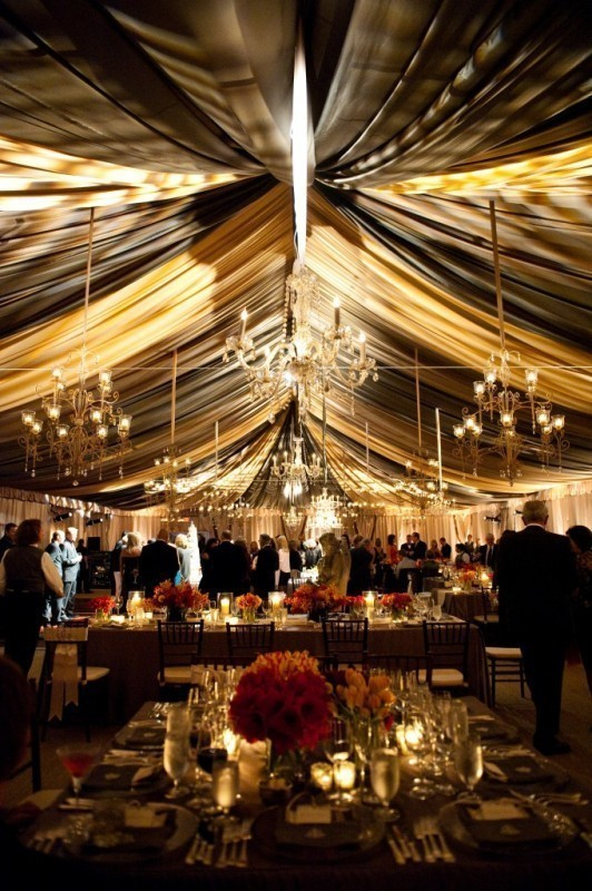 wedding-tent-decoration-ideas 88+ Unique Ideas for Decorating Your Outdoor Wedding