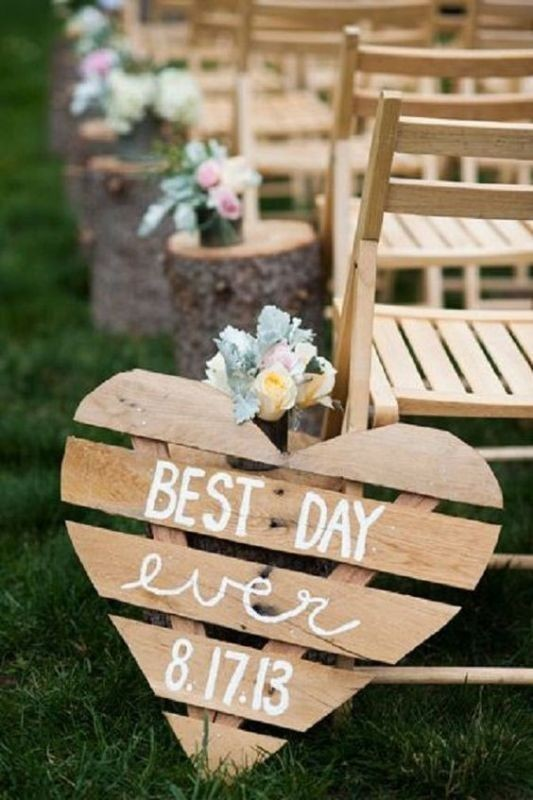 welcome-wedding-signs-1 88+ Unique Ideas for Decorating Your Outdoor Wedding