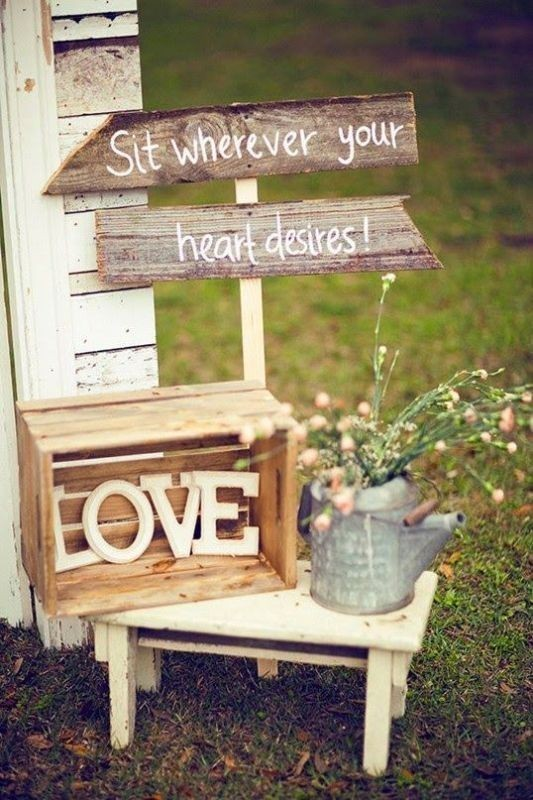 welcome-wedding-signs-2 88+ Unique Ideas for Decorating Your Outdoor Wedding