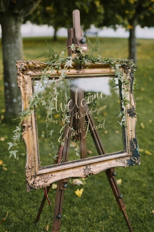 welcome-wedding-signs-3 88+ Unique Ideas for Decorating Your Outdoor Wedding