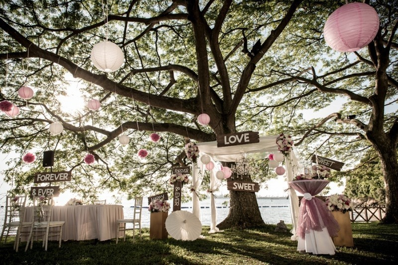 welcome-wedding-signs-7 88+ Unique Ideas for Decorating Your Outdoor Wedding