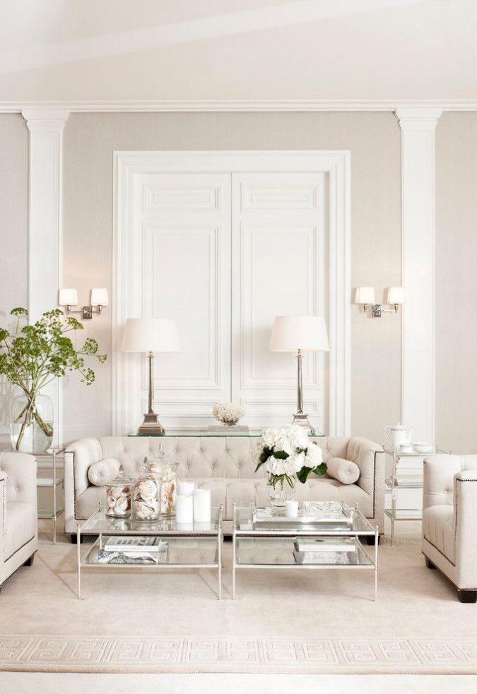 white-and-off-white-interior-design-675x983 15+ Latest Interior Design Ideas for Your Home in 2020