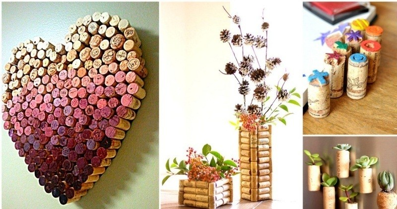 wine-cork-craft-ideas 35 Unexpected & Creative Handmade Mother's Day Gift Ideas